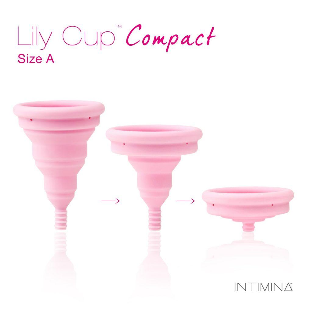 Différentes tailles de coupe menstruelle